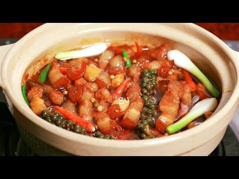Cách nấu Kho Quẹt tôm thịt Và nấu sốt kho để dành kho thịt